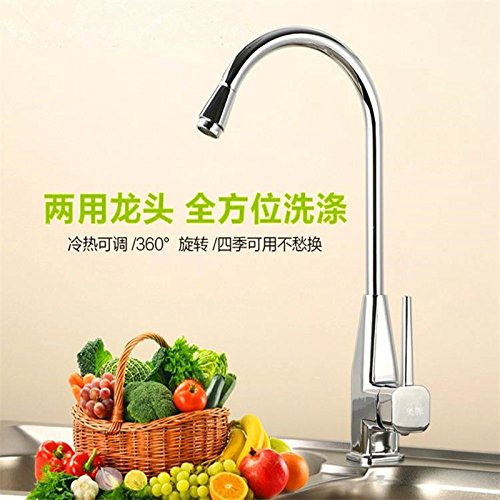 A Hose With 60cm Hlluya Professional Sink Mixer Tap Kitchen Faucet Basin dish basin mixer full copper single hole hot and cold kitchen table completely Washbasin Faucet, hose with 80cm