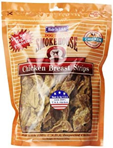 upc 078565843189 product image for Smokehouse 100-Percent Natural Chicken Breast Strips Dog Treats, 16-Ounce | barcodespider.com