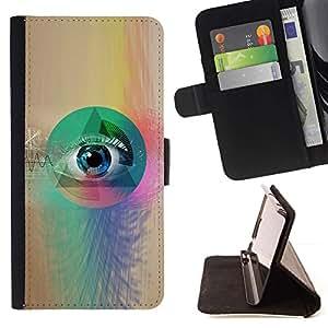 Momo Phone Case / Flip Funda de Cuero Case Cover - All Seeing Mason Albañilería gratuito - LG G4 Stylus H540
