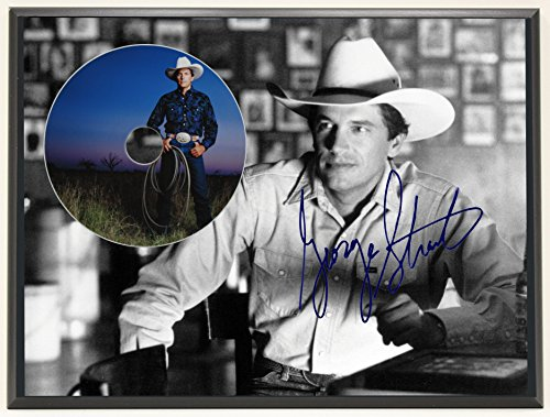 george-straight-limited-edition-signature-series-picture-disc-cd-collectible-music-display-gift