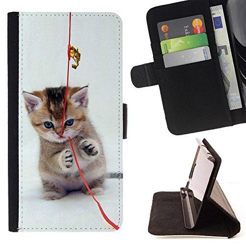 STPlus Gato en una caja Animal Monedero Carcasa Funda para LG V30 #25