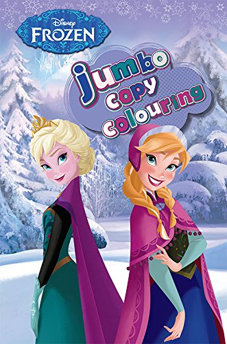 Disney Frozen Jumbo Copy Colouring