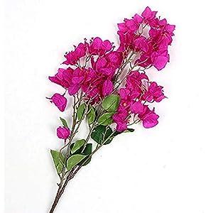100Cm Artificial Flower Bougainvillea Spectabilis Willd Silk Cloth Flowers for Home Decor Table Decor DIY Flower Arrangement 4