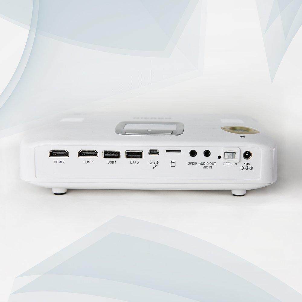 Proyector interactivo nierbo Portable 4 K descodificación HD ...