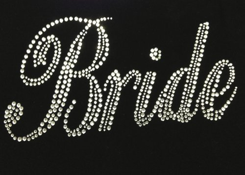 Wedding Marriage Rhinestone Transfer Applique product image