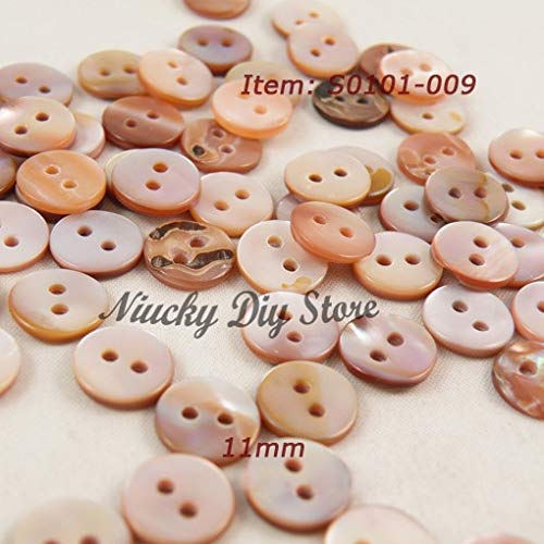 - Pukido Buttons Shop 9mm - 12.5mm 2 Hole Natural Purple Shell Mother of Pearl Buttons for Garment Accessories - (Size: 12mm 20L)