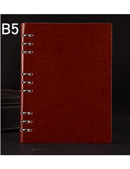 BJBCH A5 / B5 Cuaderno Espiral Agenda Diario Personal ...