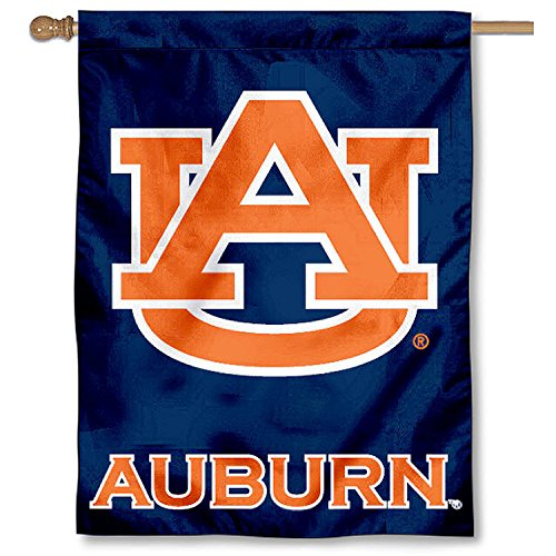 College Flags and Banners Co. Auburn University Tigers House Flag
