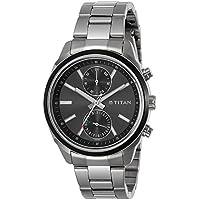 Titan Neo Analog Black Dial Men's Watch-NK1733KM01