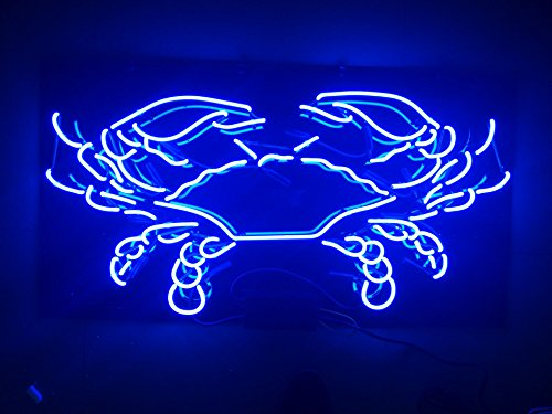 LinC Neon Sign- Crab Home Decor Light for Bedroom Garage Bee
