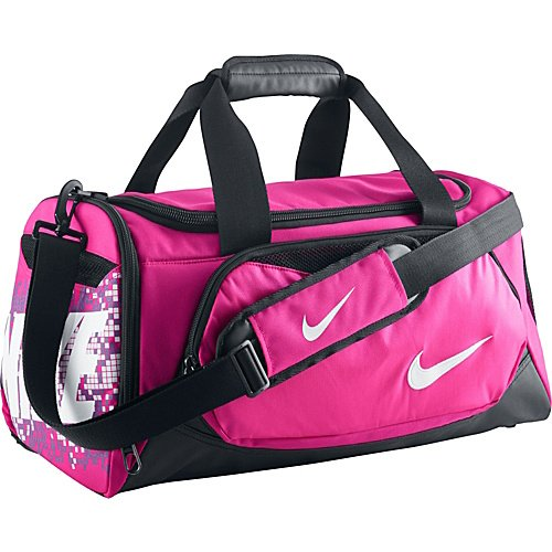 Image Unavailable. Image not available for. Color  Nike Max Air Small Pink  Duffel Bag 28d8b4f6c4123