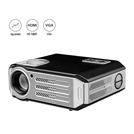 EGCLJ Proyector Full HD 3D Cinema Office Home Proyector LCD ...