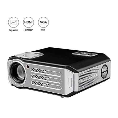 ALXLX Proyector Full HD 3D Cinema Office Home Proyector LCD ...