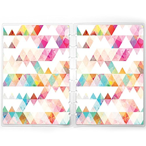 Discbound Planner Cover fits Happy Planner, Staples Arc | Triangles by Jane's Agenda