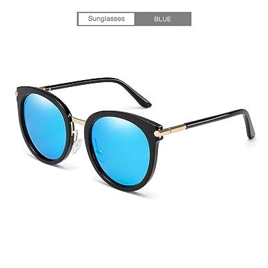Limotai Gafas de sol Espejo Redondo Ovalado De Moda Gafas ...