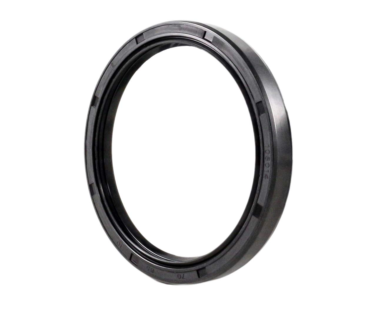 2.756x3.346x0.394 Single Metal Case w//Nitrile Rubber Coating 70mmX85mmX10mm Oil Seal 70X85X10 Oil Seal Grease Seal TC |EAI Double Lip w//Garter Spring