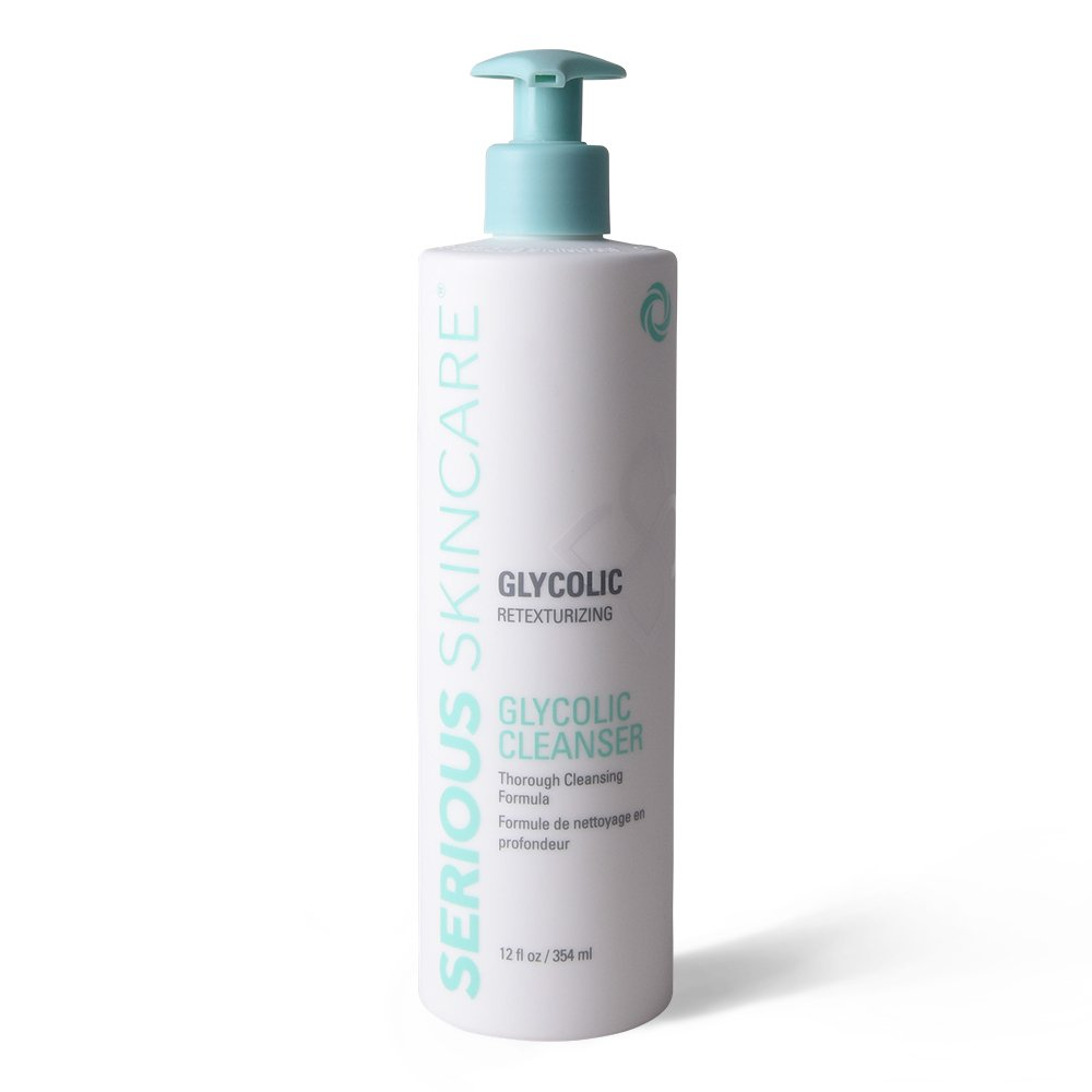 Serious Skincare Glycolic Cleanser, 12 Ounce