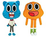 AMAZING WORLD OF GUMBALL 8 INCH PLUSH SET. 2 PIECE SET.