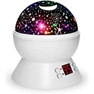 Night Lights For Kids, Multiple Colors Rotating Star...