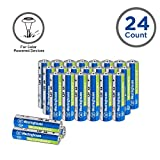 24pc Westinghouse Pre Charged Always Ready AA 1.2 volt 800mAh Ni-Mh Rechargeable Battery for Solar Garden Lights