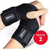 JunoSports Adjustable Athletic Wrist Brace Support for...