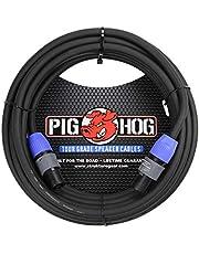 Pig Hog PHSC10SPK - Cable de altavoz (calibre 14, 9,2 mm, 10 pies)