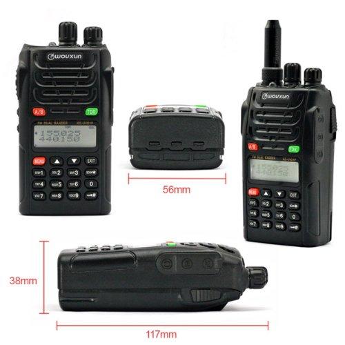 WOUXUN KG-UVD1P 136-174 / 400-470MHz Radio Handheld Transceiver