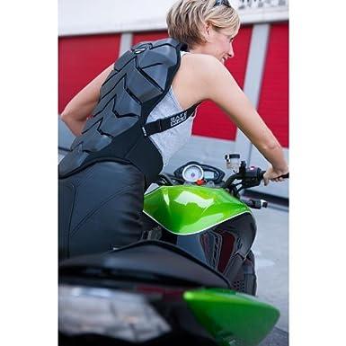 Bauart gepr/üft nach EN 1621-2 Safe Max R/ückenprotektor zum Umschnallen f/ür Damen /& Herren Schutzklasse 2 luftdurchl/ässiges Komfortgewebe integrierter Nierengurt Schutzkleidung Motorrad