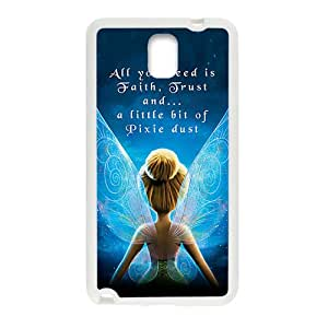 Girl With Wing White Samsung Galaxy Note3 case