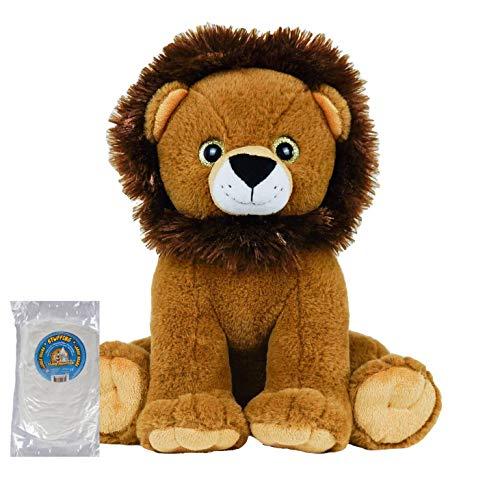 Gombita Enterprises Stuff Your Own 16インチ 縫い目のないアニマルキット ライオン ぬいぐるみ 名前入り カスタマイズ可 16 inches 60712