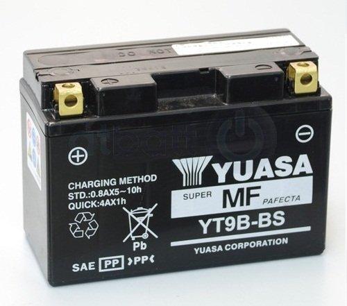 Yuasa YT9B-BS – Batteria da 8 Ah