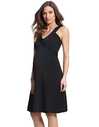 9935a7cd7a49c Seraphine Ola Little Black Maternity Dress at Amazon Women's Clothing store: