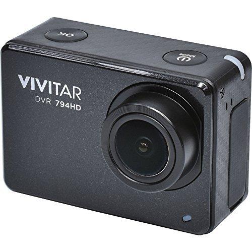 Vivitar DVR794HD 1080p HD Wi-Fi Waterproof Action Video Camera Camcorder (Black) with Remote, Helmet & Bike Mounts VIVITAR