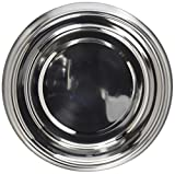 OmniPet 2 quart Anti-Ant No Tip Stainless Steel Pet Dish with Interior Dimensions 8'' Diameter, 1.75''