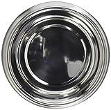 OmniPet 2 quart Anti-Ant No Tip Stainless Steel Pet Dish with Interior Dimensions 8'' Diameter, 1.75''