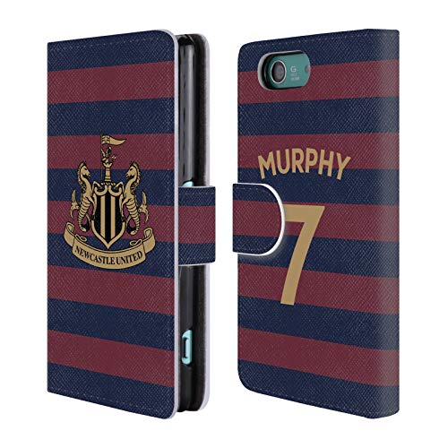 Compact Wallet Murphy (Official Newcastle United FC NUFC Jacob Murphy 2018/19 Players Away Kit Group 1 Leather Book Wallet Case Cover for Sony Xperia Z3 Compact / D5803)