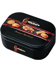 Walkers Assorted Shortbread Keepsake Tin, Scottish Shortbread, Cookie, Biscuit, Gift Box, 130 g