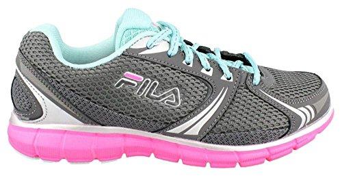 Fila Womens Memory Aerosprinter 2 Hardloopschoen Van Tin / Pink Glo / Aruba Blue