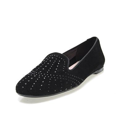Zapatos Germen 9539 - Copete Serraje, color negro, talla 39