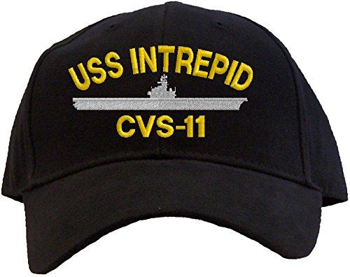 uss-intrepid-cvs-11-embroidered-baseball-cap-black
