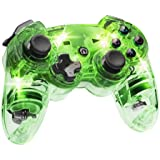 Afterglow Wireless Controller, Green - PlayStation 3