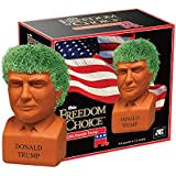Chia Donald Trump Freedom of Choice Pottery Planter