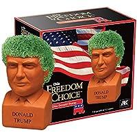 Chia Pet Donald Trump, Decorative Pottery Planter,...