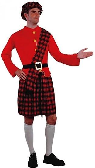 Fyasa 704335 disfraz de escocés, grande: Amazon.es: Juguetes y juegos
