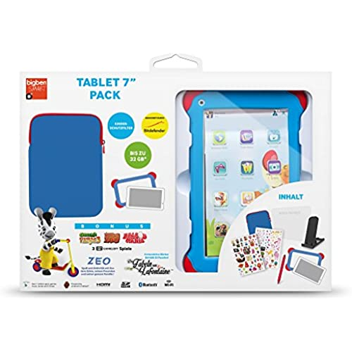 Bigben Ta332353 17.8 Cm (7 Inches) Kids Tablet (Rockchip Atm7021, 1.2Ghz, 1Gb Ram, 4Gb Hdd, Android, Touchscreen Coupons