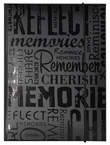 MCS 100 Pocket Big Max Embossed Memories Album, (Photo Memories)