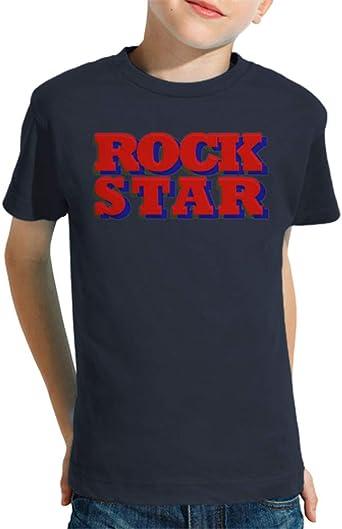 latostadora - Camiseta Rock Star para Nino y Nina: funbamboo: Amazon.es: Ropa y accesorios