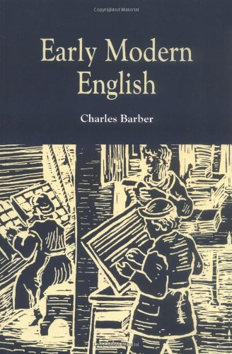 Early Modern English from Brand: Edinburgh University Press