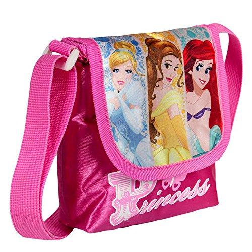 Splendida borsa a tracolla con patta Principesse Disney