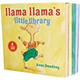 By Anna Dewdney Llama Llama's Little Library (Box Brdbk) [Board book]